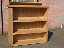 """Motorised TV Lift Bookcase Cabinet in Oak, Suitable For Screen Sizes 32"""" to 51"""""""