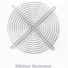 200mm Chrome Wire Fan Grill / Finger Guard. For 200mm to 230mm fans.