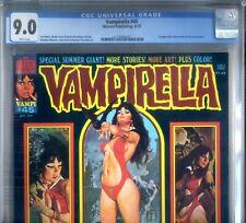 PRIMO:  VAMPIRELLA #45 VF/NM 9.0 CGC 1975 high grade Warren magazine