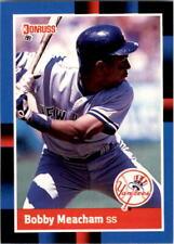 1988 Bobby Meacham Donruss Baseball Card #616