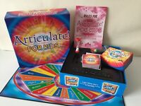 Drummond Park Articulate For Kids Talking Fun Family Board Game. Sealed Contents