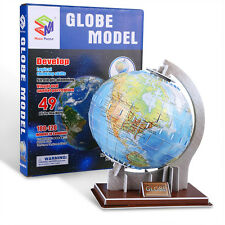 3D Globe World Sphere Puzzle. A 1-2 hour educational Xmas Gift of our Earth.