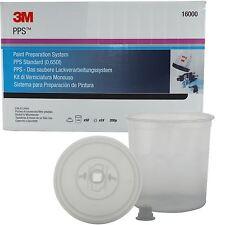 3M 16000 SPA Vernice Preparazione sistema MONOUSO Vernice Spray FILTRO MISCELA VASI