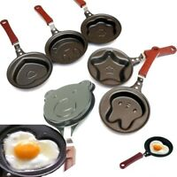 Mini Egg Pancake Frying Pan Non-Stick 7Design Creative Pot Kitchen Tool Cute