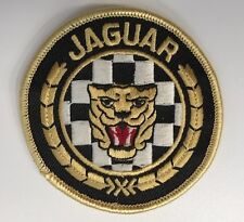 BRODERIE JAGUAR RONDE ECUSSON BADGE