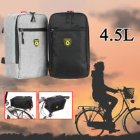 Bicycle Rear Bike Rack Pannier Trunk Tail Bag Cycling Carrier Bag Pouch  &