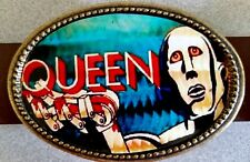 Queen Rock Group Epoxy Photo Music Belt Buckle - New!