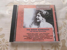 THE GREAT SOPRANOS THE ITALIAN TRADITION 1995 NUOVA ERA RECORDS ITALY PH5049