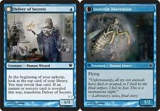 Delver of Secrets // Insectile Aberration FOIL x1 Magic the Gathering 1x Innis