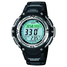 £70 Casio SGW-100-1VEF Mens Sports Gear Twin Sensor Low-temperature Resistant W