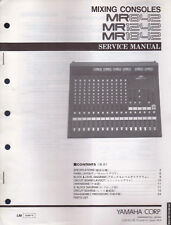 Yamaha Mixing Consoles Mr842-1242-1642 Service Manual Schematics Parts List