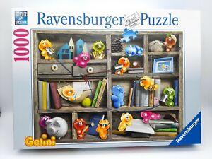 1000 Pieces Puzzle Gelini IN Bookshelf - Ravensburger - Rarity