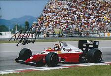 Bernd SCHNEIDER Signed 12x8 Photo Autograph AFTAL COA West F1 Rio de Janeiro