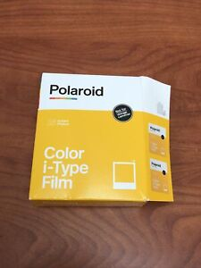 Polaroid Color I-Type Film Double Pack (16 Photos) (6009) 8 per pack -OPENBOX