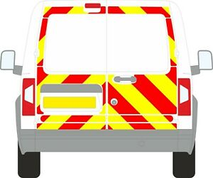 FORD TRANSIT CONNECT 2002-2012 3/4 CHEVRON KIT PRISMATIC CHAPTER 8 REFLECTIVE