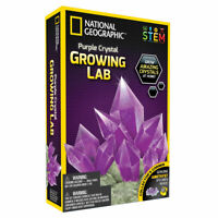 National Geographic Purple Crystal Growing Lab STEM Educational Activity for Kid