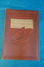 4 issues of The Complete Photographer 14 15 16 and 18 1942 in Binder Lectures