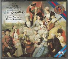 Haydn ~ sinfonie 35, 38, 39, 49, 58 & 59 ~ Solomons