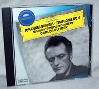 CD JOHANNES BRAHMS Symphonie No.4 - Wiener Philharmoniker / CARLOS KLEIBER