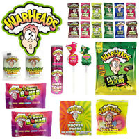 Warheads Assorted 2 Showbag Sour Spray Sour Bombs Mixed Candy Pack Lollies Fresh