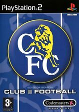 Chelsea Club Football 2003-04 PS2 (PlayStation 2) - Free Postage - UK Seller