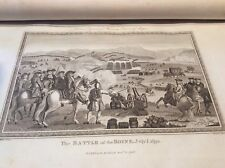 Antique print from the Battle of the Boyne 1690, from Rapin De Troyes, A history