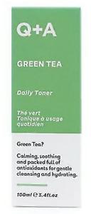 Q+A Green Tea Daily Antioxidant Super Hydrating Toner 100ml