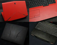 KH Laptop Leather Sticker Skin Cover for Dell Alienware 15 M15X R2 2015 version