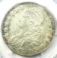 1813 Capped Bust Half Dollar 50C - Certified PCGS AU Details - Rare Coin!