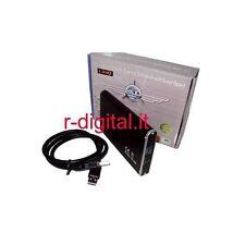 """BOX ESTERNO USB 3.0 LINQ HD HARD DISK 2,5"""" SATA 2.5 POLLICI PICCOLO CASE CAVO 3"""