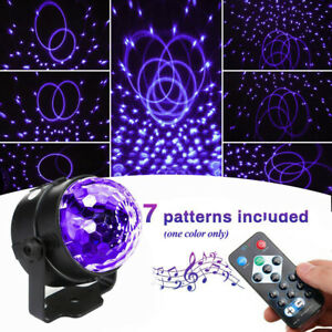 Pattern Laser UV Projector Stage Light LED Party KTV Club DJ Disco Black Lights