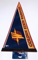 "New 2008 12x30 Golden State Warriors NBA Basketbal Felt Pennant ""Old Logo"" Curry"