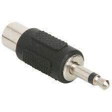 RCA Jack To 3.5mm Mono Plug Adapter