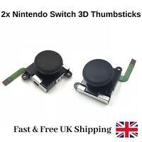 2x Nintendo Switch ThumbStick Replacement Pair 3D Analog Joystick Joy Con Repair