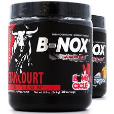 Betancourt B Nox Ripped (30srv) Thermogenic fat burning preworkout supplement