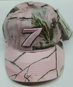 Danica Patrick #7 Nascar Pink Ladies Camouflage Hat