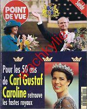 Point de vue 2493 07/05/1996 Carl XVI Gustaf Suède Caroline Ludwigsburg Windsor