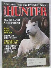 American Hunter Magazine April 1991 Alaska Range Sheep Hunt Turkey Hunters Elk