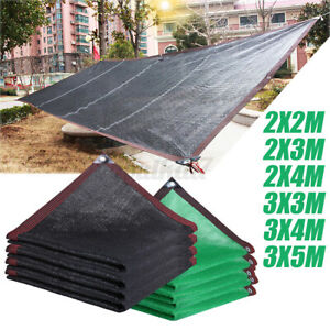 Sun Shade Sail Sunshade Patio Outdoor Canopy Awning 95% UV Block Top Cover