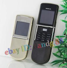 Nokia 8800 Sirocco 8800D 8800SE Cellular Mobile Cell Phone Original Unlock Black