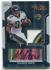 2006 Playoff Signature Proofs Gold 106 Maurice Jones-Drew Rookie Patch Auto 4/10