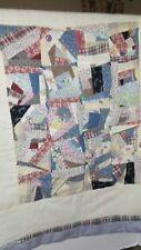 New Handmade Baby Quilt/34x37/Pooh & Piglet In Design