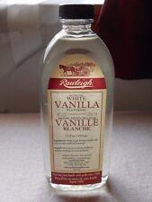 Rawleigh White Vanilla   12 fl. oz.