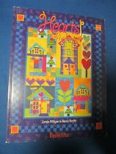 Possibilities Hearts Aplenty quilt book by Lynda Milligan & Nancy Smith applique