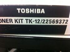 ORIGINAL Tos  Hiba tk-12 22569372 TONER NEGRO para Toshiba TF 501 a-artículo