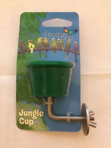 CAITEC TINY NON PORUS 3/4 OZ CUP WITH STEEL MOUNTING BRACKET. IN USA
