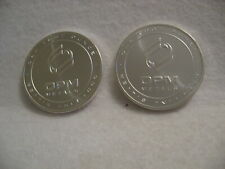 "2 ""TWO""  OPM 1 oz .999 Pure Fine Silver Rounds Made in USA -  PROOF LIKE LUSTER"