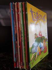 bandes dessinées TITEUF de 1993 à 2008 ARTBOOK by PN