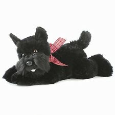 "12"" Mr. Nick Nicholas Schnauzer Pup Puppy Dog Stuffed Animal Plush AU30517"