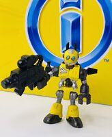Imaginext Blind Mystery Bag Series 1 Yellow Robot figure Complete W/ Accessories